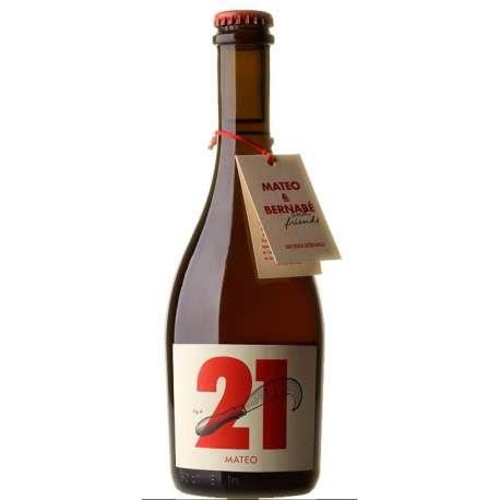 Cerveza riojana Mateo 21