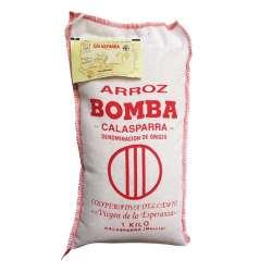 Arroz bomba Calasparra 1kg