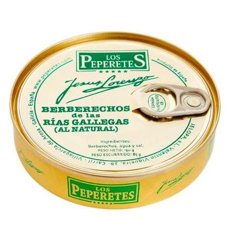 Berberechos al natural 'Los Peperetes'