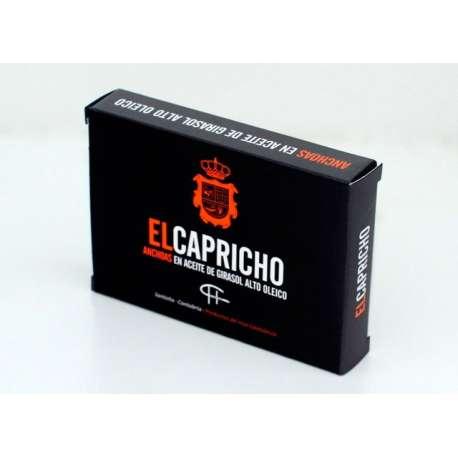 Lomos de Anchoas El Capricho 78Gr