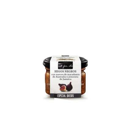 Salsa para queso Higos con nueces macadamia y pimienta