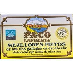 Mejillones Fritos Escabeche 6/8 Paco La Fuente