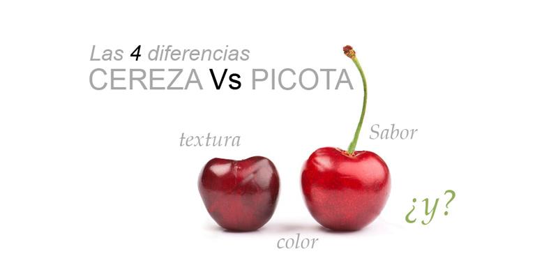 Diferencias entre la cereza y la picota